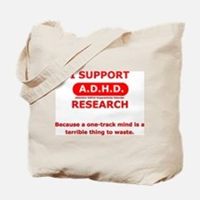 Support ADHD Research Tote Bag