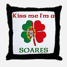 Soares Family Throw Pillow