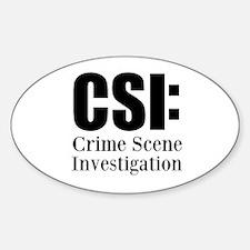 CSI Decal