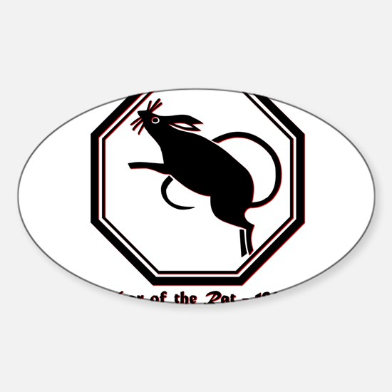 Year of the Rat - 1960 Sticker (Oval)