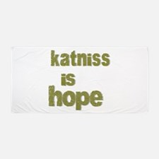 Katniss is Hope Beach Towel