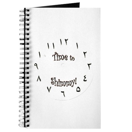 Bellydancer notebook