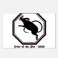 Year of the Rat - 2020 Postcards (Package of 8)