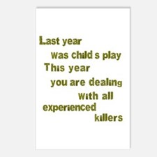 Experienced Killers Postcards (Package of 8)