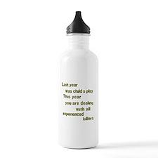 Experienced Killers Sports Water Bottle