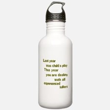 Experienced Killers Sports Water Bottle