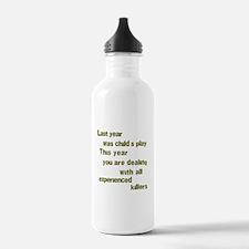 Experienced Killers Water Bottle