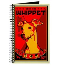 Obey the Whippet! dog Journal