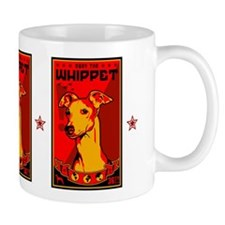 Obey the Whippet! coffee Small Mug