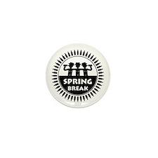 Spring Break (P) Mini Button