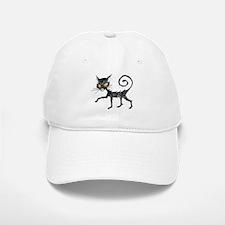 Black Cat Baseball Baseball Baseball Cap
