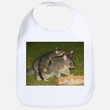 Possum mother & baby Bib