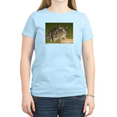 Possum mother & baby Women's Pink T-Shirt