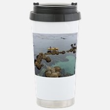 Cute Carmel beach Travel Mug