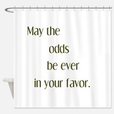 Odds Favor Shower Curtain