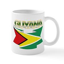 Guyana flag ribbon Mug