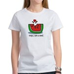Oops I ate a watermelon seed. Women's T-Shirt