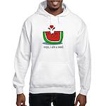 Oops I ate a watermelon seed. Hooded Sweatshirt
