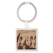 AbuSimbel001 Square Keychain