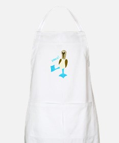 Blue-footed Booby Dance! BBQ Apron