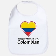 Happily Married Colombian Bib