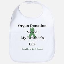 Brother Transplant Bib