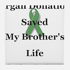 Brother Transplant Tile Coaster