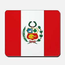 Peru's flag Mousepad