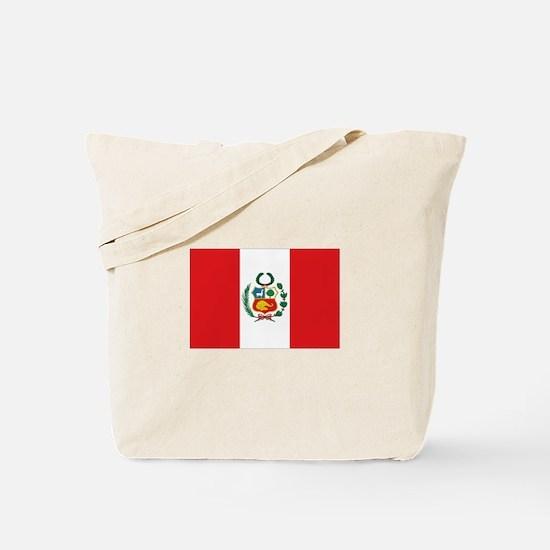 Peru's flag Tote Bag
