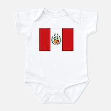 Peru's flag Infant Bodysuit