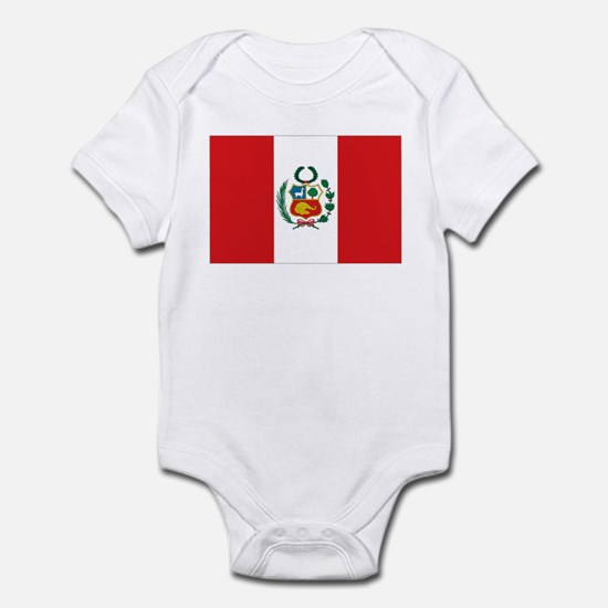 Peru's flag Infant Bodysuit