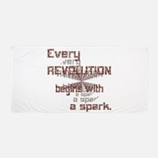 Revolution Spark Beach Towel