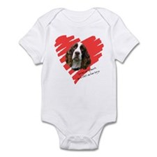 Love on Four Legs Infant Bodysuit