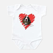 Love on Four Legs Infant Bodysuit