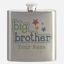 Personalized Big Brother Flask