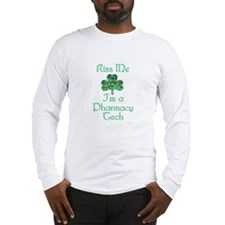 Kiss me I'm a Pharmacy Tech Long Sleeve T-Shirt