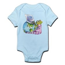 I Leap, Therefore I am! Infant Bodysuit