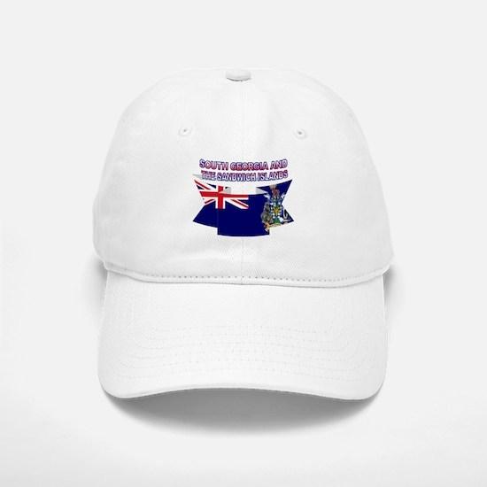 South Georgia Islands flag Baseball Baseball Cap