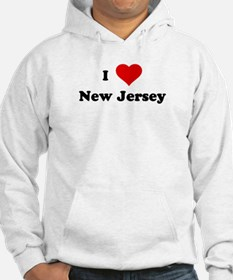 I Love New Jersey Jumper Hoody