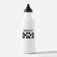 Schnauzer Dad Water Bottle