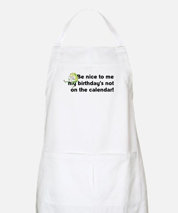 My Birthday's Not... Apron