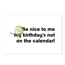 My Birthday's Not... Postcards (Package of 8)