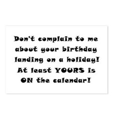 Don't Complain To Me! Postcards (Package of 8)
