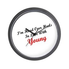 In Love with Young Wall Clock