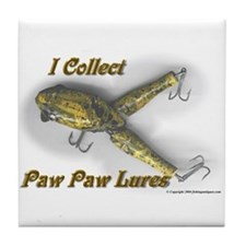 Paw Paw Collector Tile Coaster