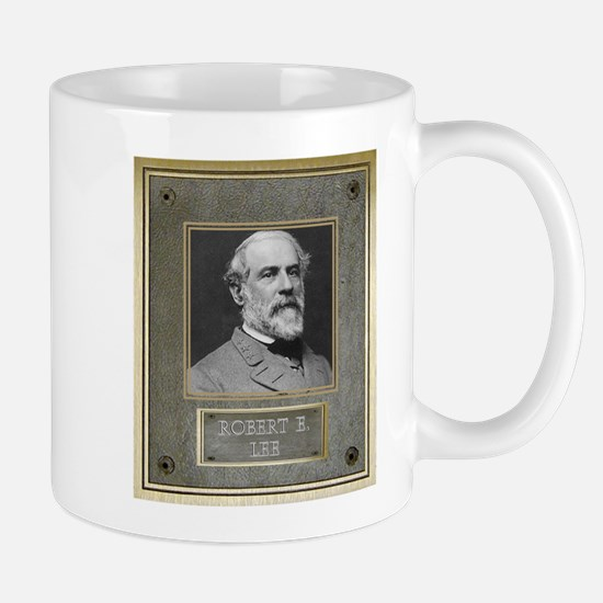 Bronze Plaque - Robert E. Lee Mugs