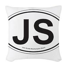 John Scotts Woven Throw Pillow