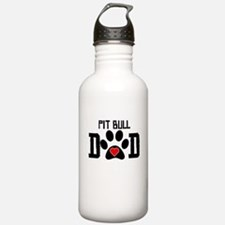 Pit Bull Dad Water Bottle
