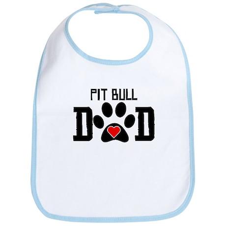 Pit Bull Dad Bib