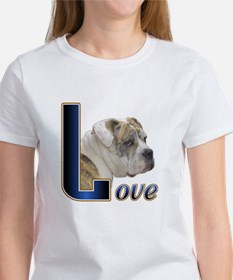 English Bulldog Love Tee